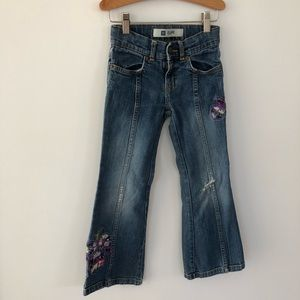 Gap Kids Boho Flare Jeans, Size 6 years.